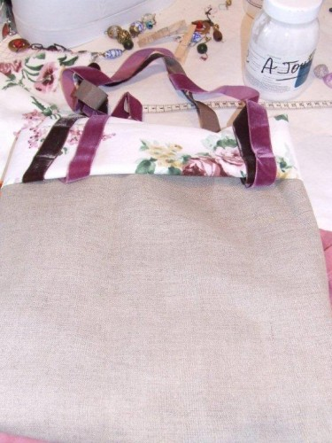 marie-claire idees, marie,claire,idees, abat-jour, sac, bag, DIY, ruban, fleurs, ikea,